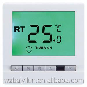 Floor heating digital LCD display electric thermostat