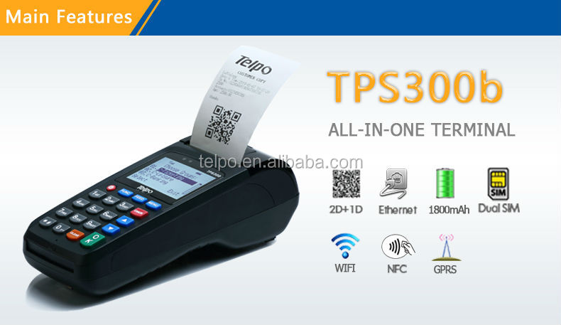 Telpo Tps300b Popular Bus Payment System Mobile Pos System