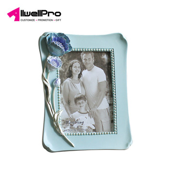 3D Creative Flower Design Resin Photo Frame For House Decoration