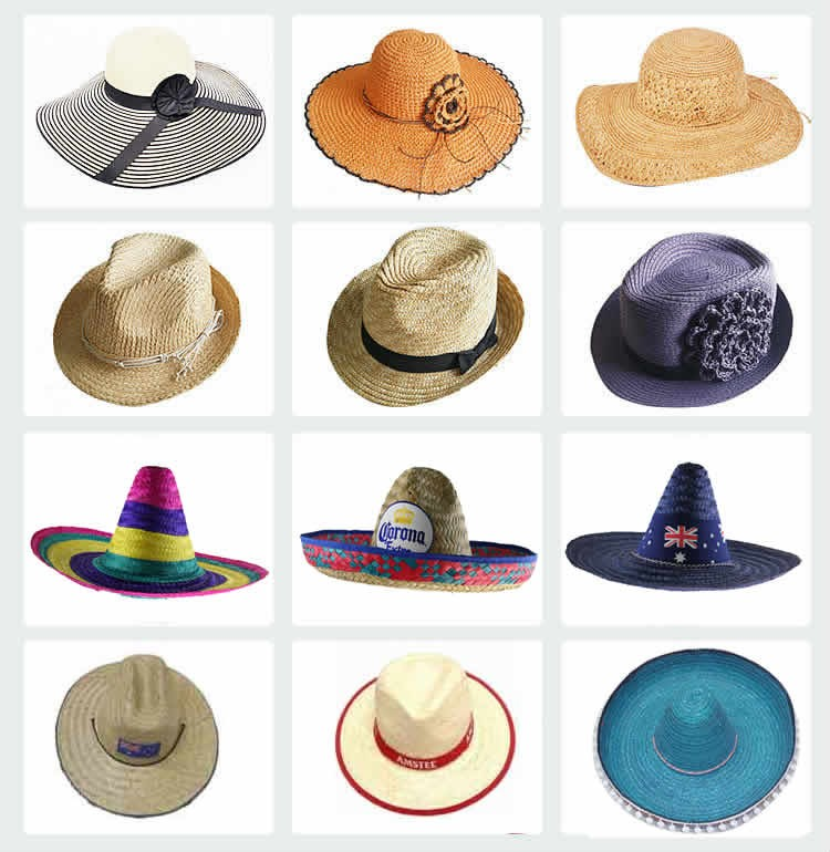 3519ab3b1d3 Wholesale Panama Hat Custom Hat Women paper Straw Hat