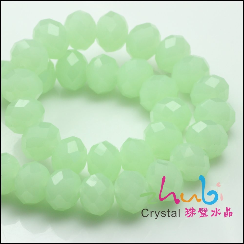 Crystal Rondelle 10MM Murano European Glass Beads Cheap Sell