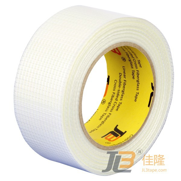 JLW-308 High Temperature No Adhesive Fiber Glass Mesh Tape for Cable, Pipe