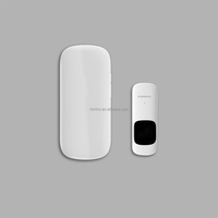 Forrinx intelligent stylish wireless door chime for business 52 stereo sounds 300m working long range
