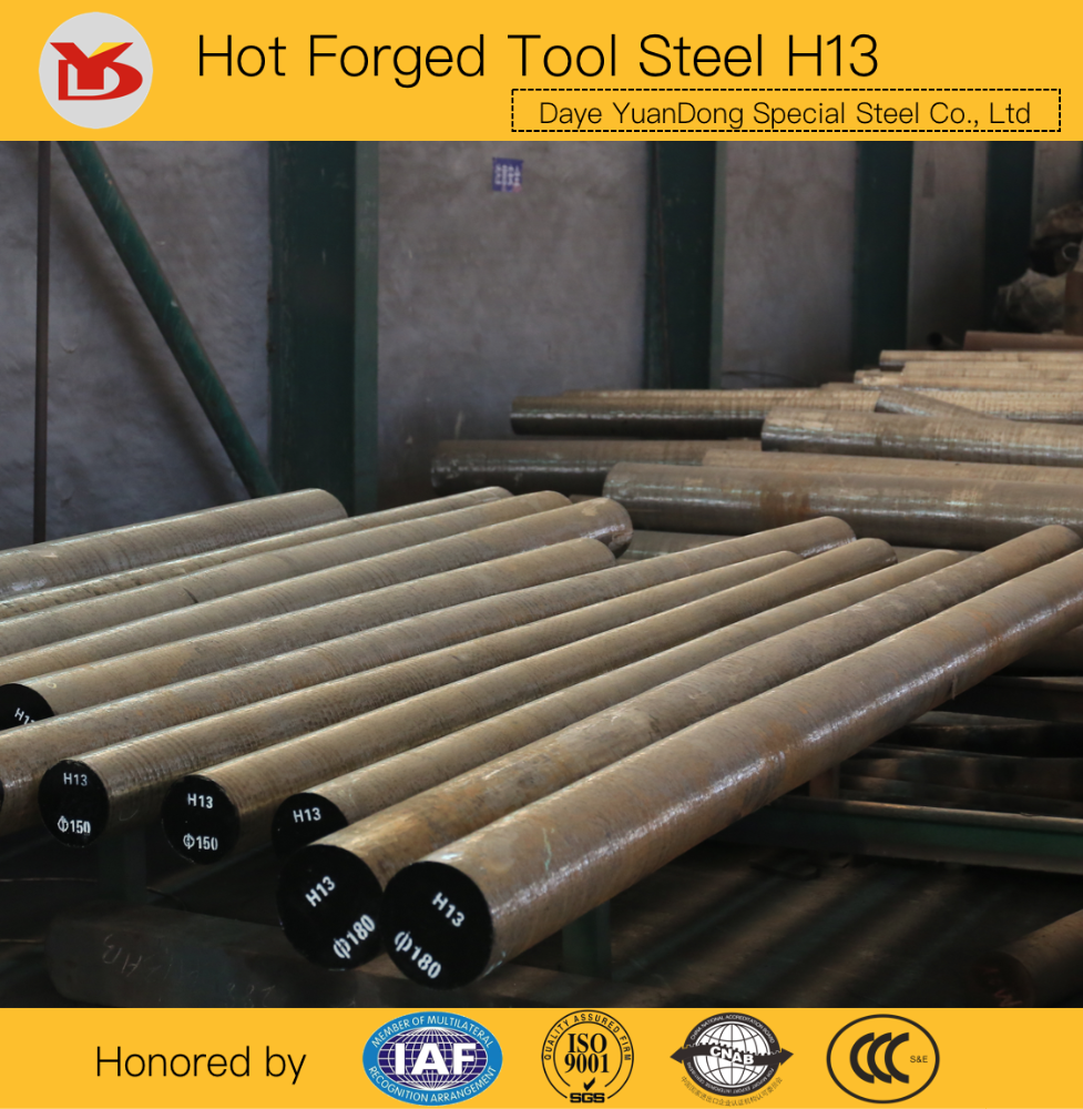 Hot Forged Tool Steel AISI H13 Round Bar