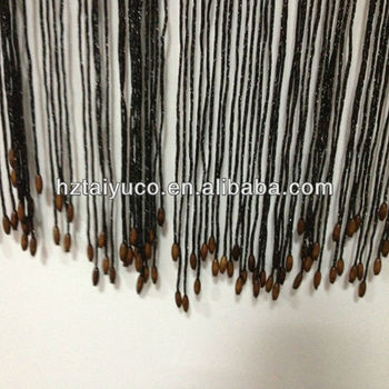 Hot Sale Turkish Curtains Purified Wood Bead String Curtain Wholesale