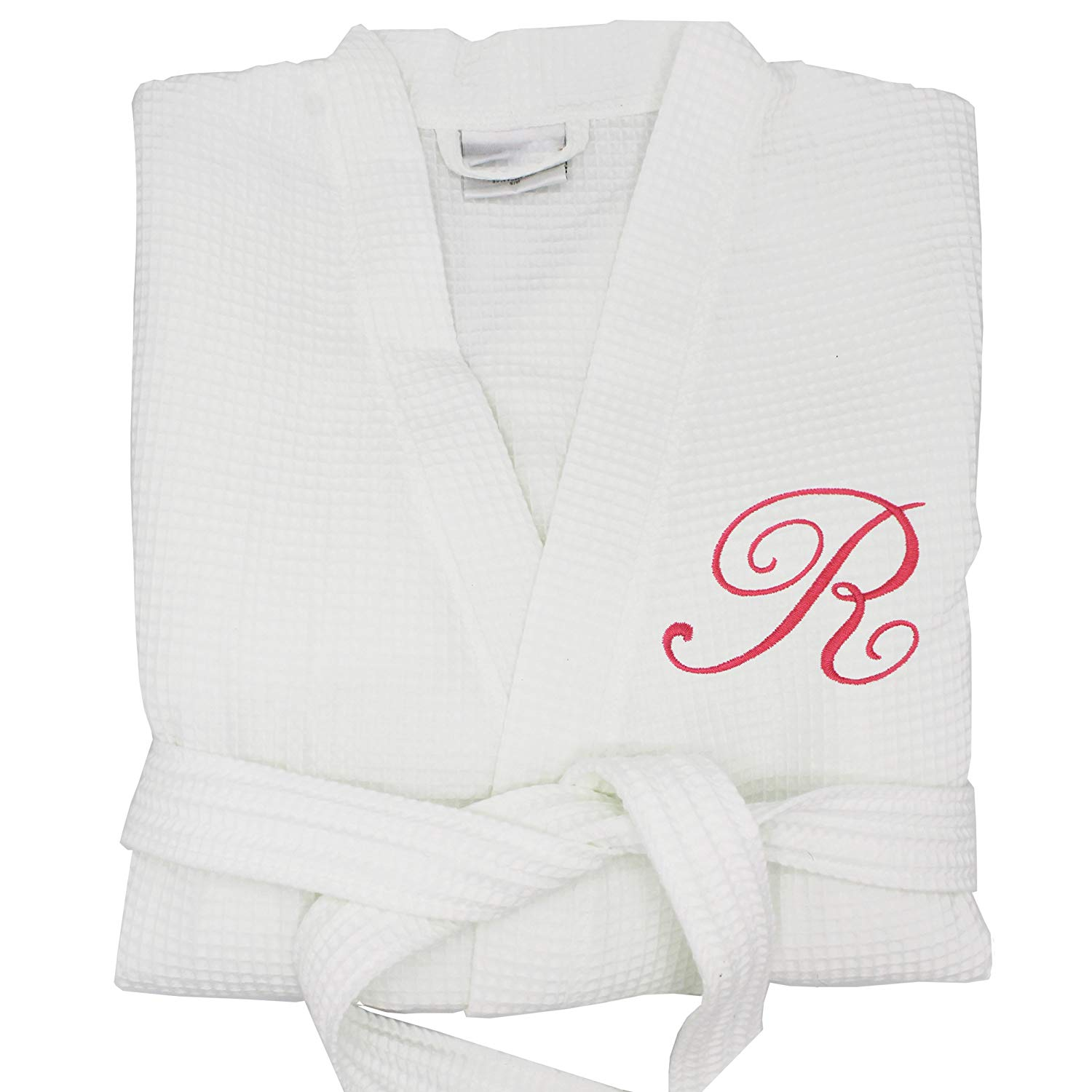 Get Quotations · Custom Waffle Bridesmaid Kimono Robe Spa Gift - Wedding  Bridal Party Robes - Personalized Monogrammed for 70a6843cc
