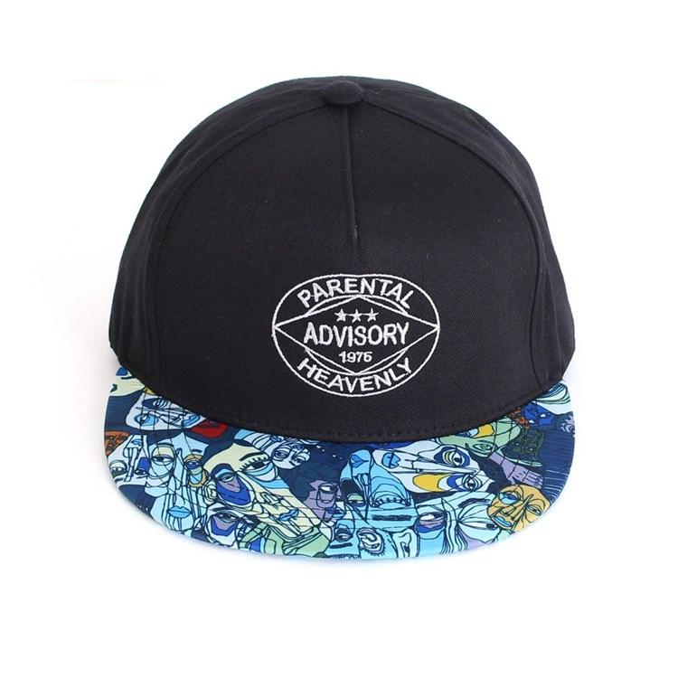 c568ade423a 5 Panel Flat Cork Brim Plain Snapback Cap hats Wholesale In China ...