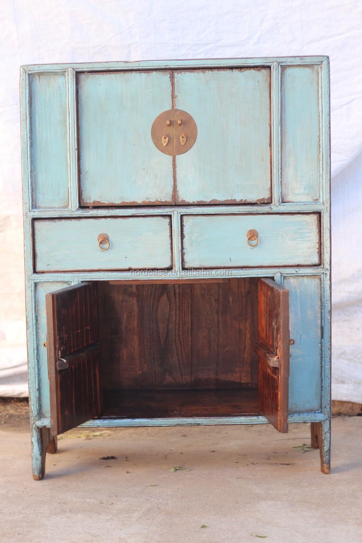 Antiguos Chinos De Madera Recuperada Muebles De Cocina Armarios De  # Muebles Tibetanos Antiguos