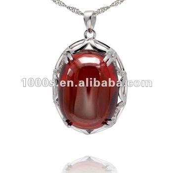 Large ruby stone pendant buy ruby stone pendantsilver925 jewelry large ruby stone pendant aloadofball Images