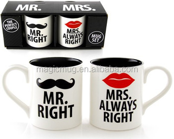 Mr Right Mrs Always Mug