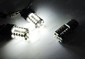 LEDIN 2x (BA15s 1156 7506 P21W) 40 SMD LED Stop Light Bulb White 6000K