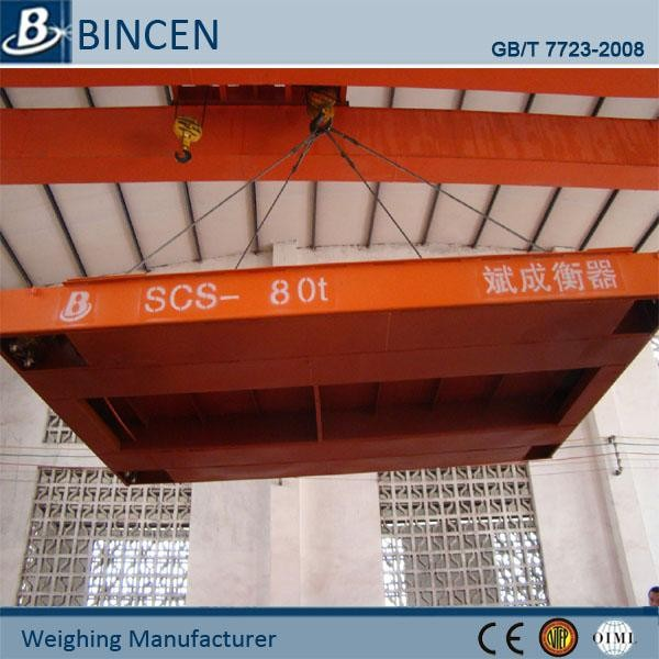 SCS Accurate platform 60t weigh bridge