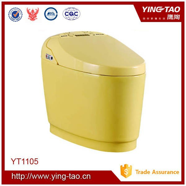 China portable Bathroom intelligent toilet automatic water closet flush