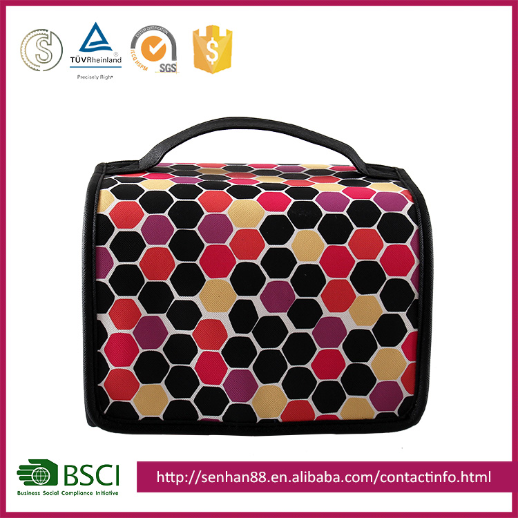 cheap price colorful Support Custom colors PU PVC hook zipper net washing bags high quality laundry travel wash bag