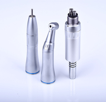 Internal low speed oil-retaining contra angle dental handpieces