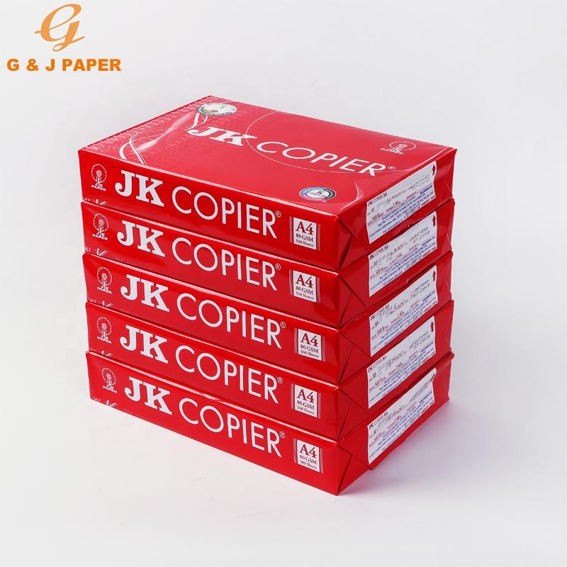 Professionele Kantoor 80gsm Jk A4 Size Copier Papier