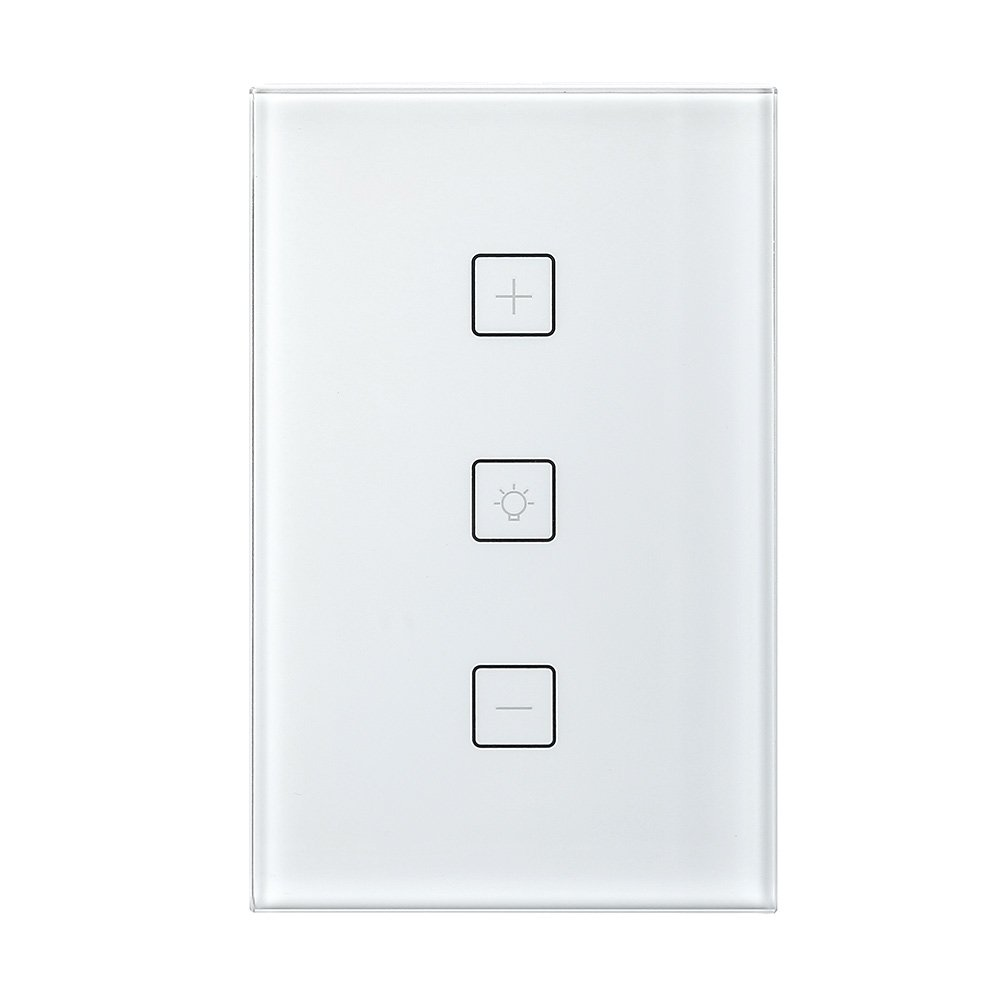 Smart Switch,Merkmak Wireless Wi-Fi Lighting Control Adjust Light Brightness 15A No Hub Required Compatible with Amazon Alexa and Google Assistant Remote Control Schedule Your Fixtures Anywhere