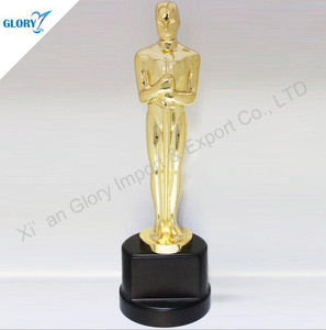 Moderate Metal Oscar Movie Trophy Replica