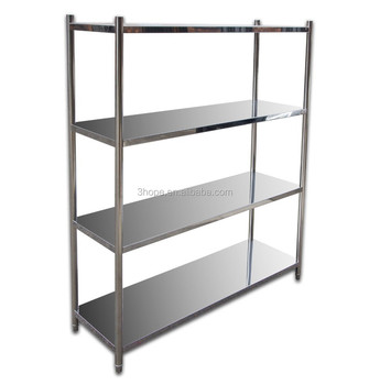 Restaurant Kitchen Metal Shelves used stainless steel shelving,restaurant kitchen stainless steel