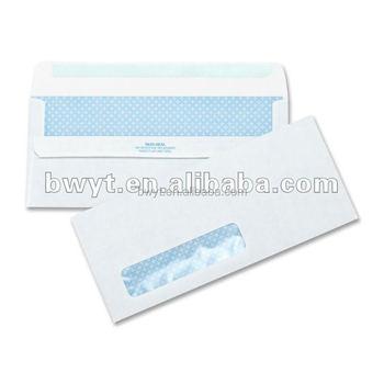 Enveloppe De Papier Blanc Avec Fenêtrepapier A3 Enveloppe Pour Les
