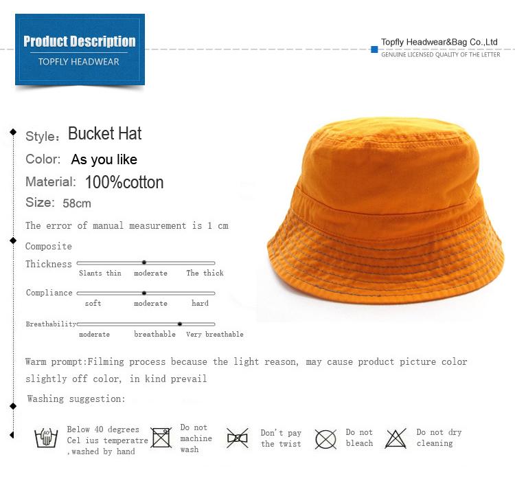 5da71e71214c7 Washed Cotton Children Bucket Hat With Hang Tag - Buy Children ...