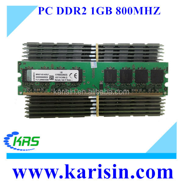 High quality 1gb 2gb ddr2 pc800 ram memory