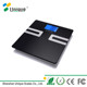 2017 Amazon hot seller digital fat water bone mass body analysis weight scale with Bluetooth