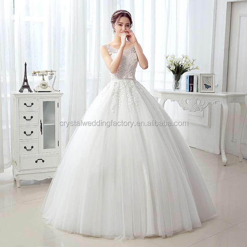 Sexy Tulle Lace Appliques 2016 Vestido De Noiva Robe De Mariage Cap ...