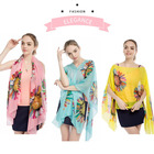 Summer Sunscreen Chiffon beachwear cover up beach dress