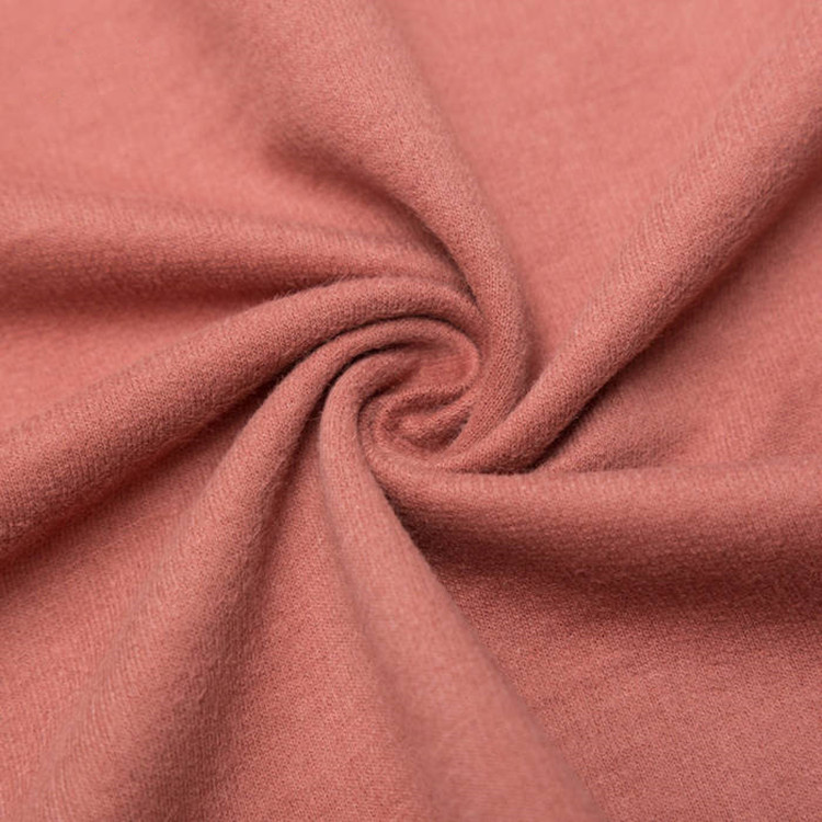 Knit 32s combed cotton french terry fabric for sportswear hoodies
