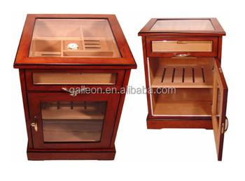 Wine And Cigars Cabinet Cedar Wooden Cigar Humidor Furniture Modern Humidors
