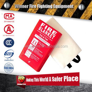Fireproofing rescue fire blanket for anti high temperature