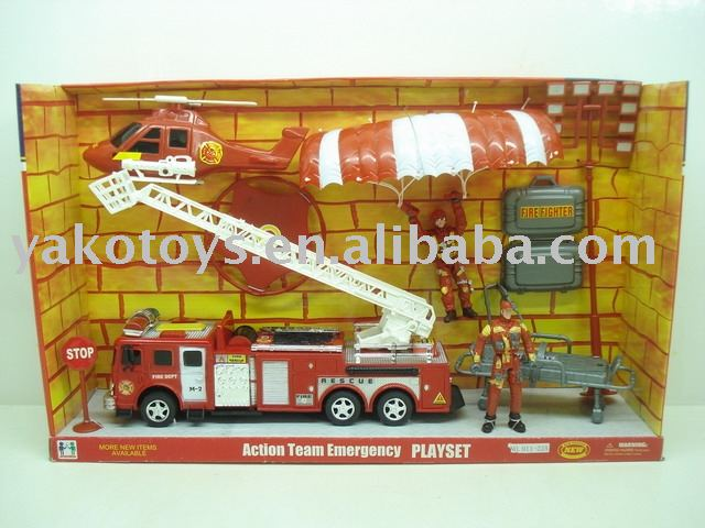 F/P FIRE SET,F/P TOY,FRICTION TOY Y2250126