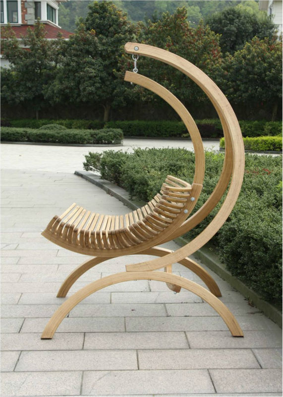 Wooden Swing Chair Wooden Hanging Chair Wooden Lounge Chair Outdoor Swing Chair View Swing Chair Wixxon Product Details From Hangzhou Brutto Metal Trading Co Ltd On Alibaba Com