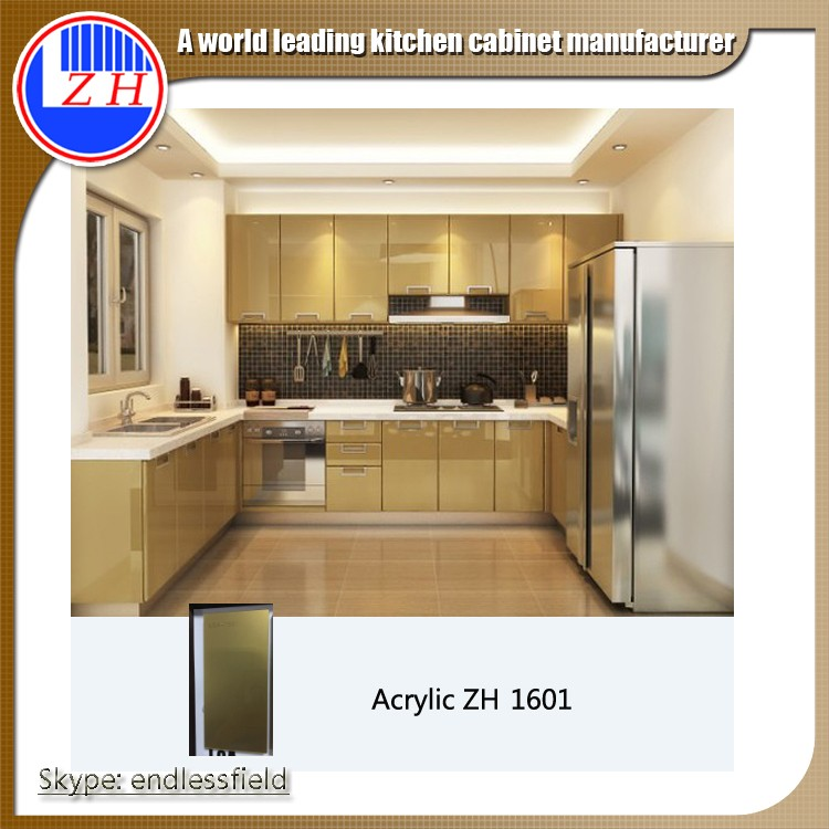 China Kitchen Cabinet Factory Cambodia Project Experienced ...