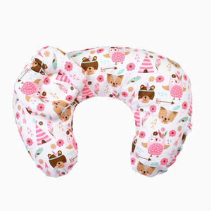 ZOGIFT Pillow Cushion Decorative Bolster Crib Bedding Body Pillow Removable Cotton Cover Baby Cushion Pillow