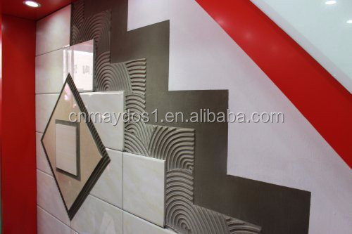 Superior Floor Ceramic Tile Adhesive Glue On Concrete Floor Of