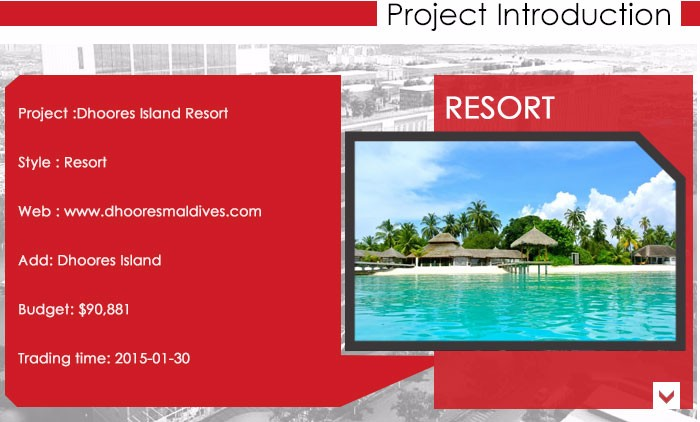 INEO Successful Resort Projects In Maldives
