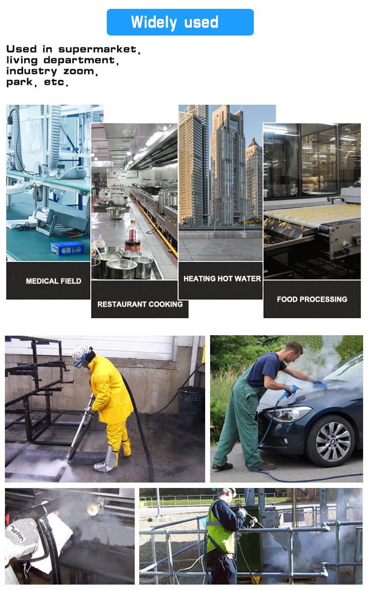 Automatique lave-Auto à vapeur haute pression nettoyage équipement de lavage de voiture mobile jet lavage machine à laver de voiture à vapeur