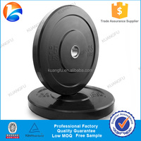 Rubber Bumper Plate Free Weights Gym