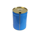 customized seed tinplate can, seed tin box, seed tin can With Easy pull cover