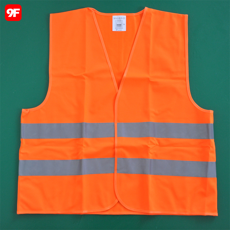 EN20471 hi viz reflective clothing worker vest safety vest