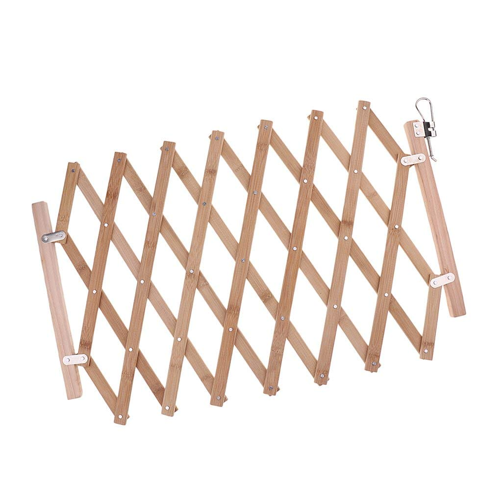 Get Quotations Magideal Expandable Dog Wooden Safety Gate Expanding Swing Indoor House