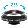 Factory price Super Fisheye 235 Degree Lens for Phone camera lens