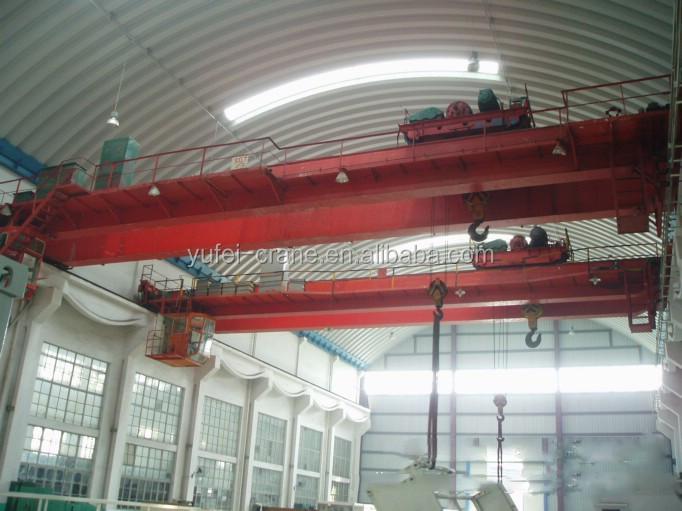 Overhead Crane Electrical Maintenance : Lh type electric hoist double girder bridge crane made in