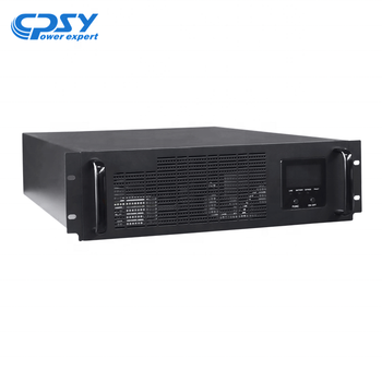 Advanced 6KVA 10KVA Rack Mount 3U High Frequency Online UPS With Battery Pack