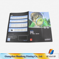 custom full color cheap coupon flyer poster printing manufacturer