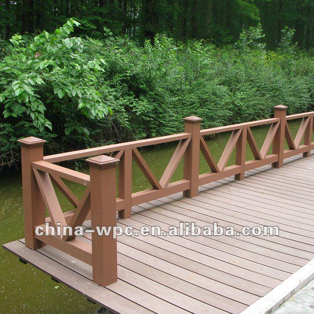 Barandilla madera exterior top escalera de caracol for Barandillas de madera para jardin