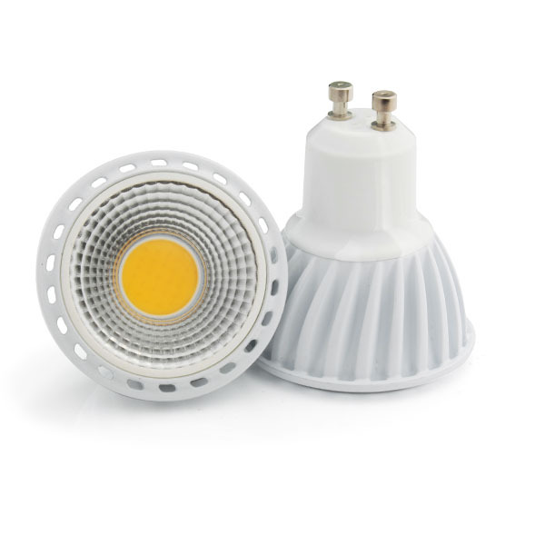 100% Quality Assurance GU10 5w led cob Warm White COB LED Bulb COB LED Sport light for ceiling light lamp cob spot light