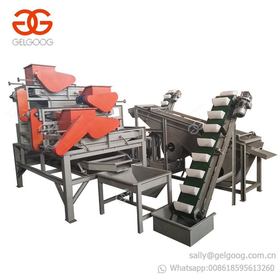 Professional Hazelnut Shelling Almond Huller Machine Palm Nut Breaking Machine